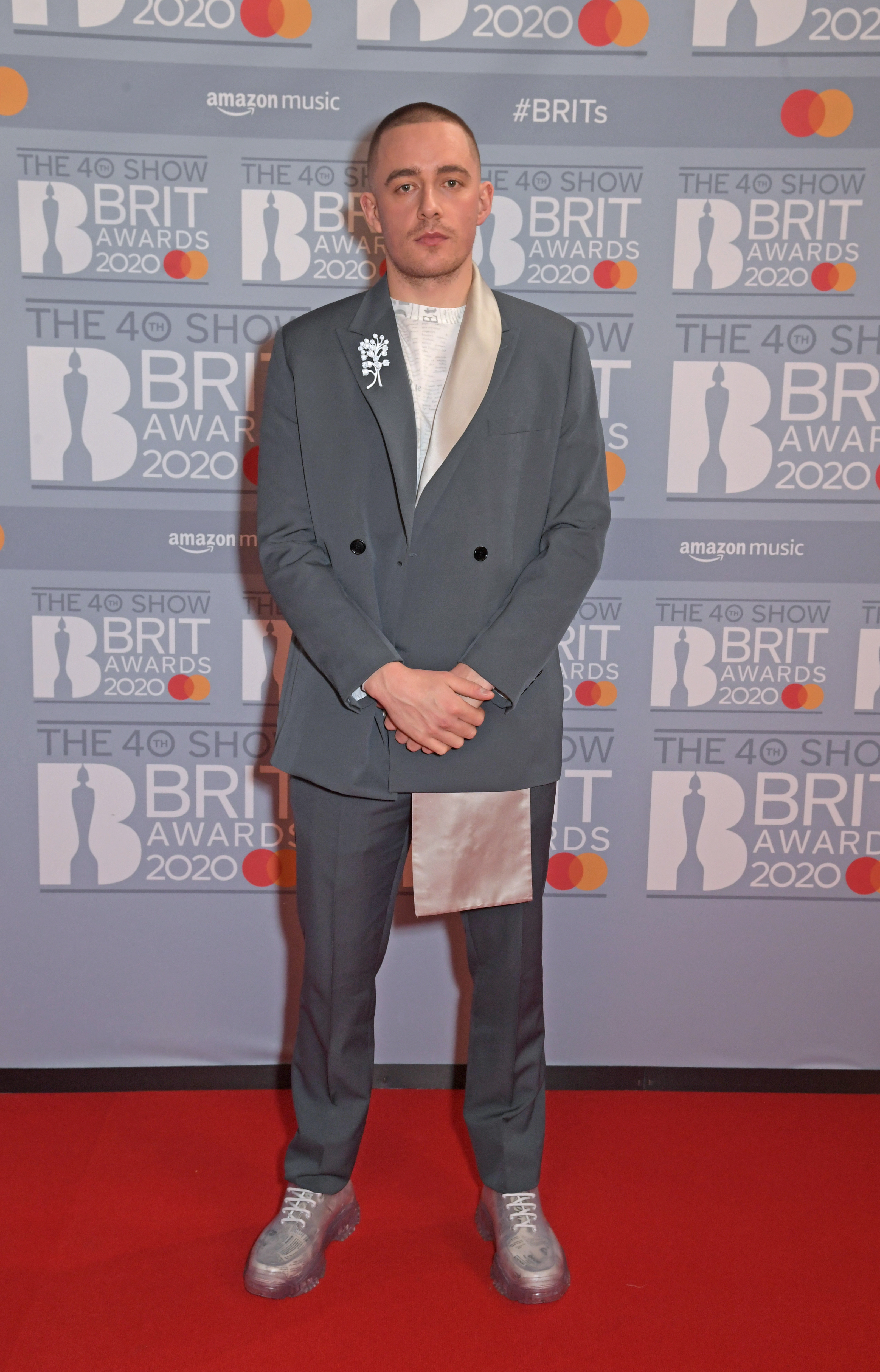 Dermot Kennedy attends The BRIT Awards 2020 at The O2 Arena on February 18, 2020 in London, England.  (Photo by David M. Benett/Dave Benett/Getty Images)