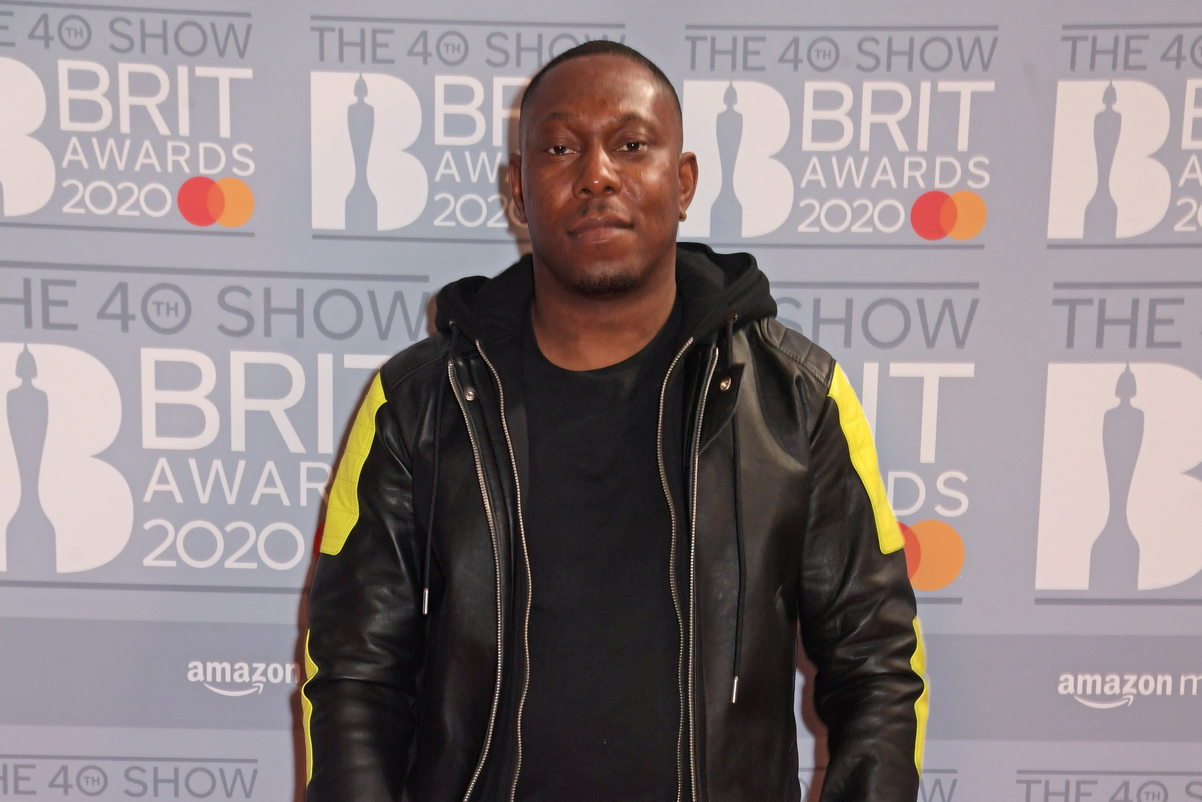 Dizzee Rascal attends The BRIT Awards 2020 at The O2 Arena on February 18, 2020 in London, England.  (Photo by David M. Benett/Dave Benett/Getty Images)