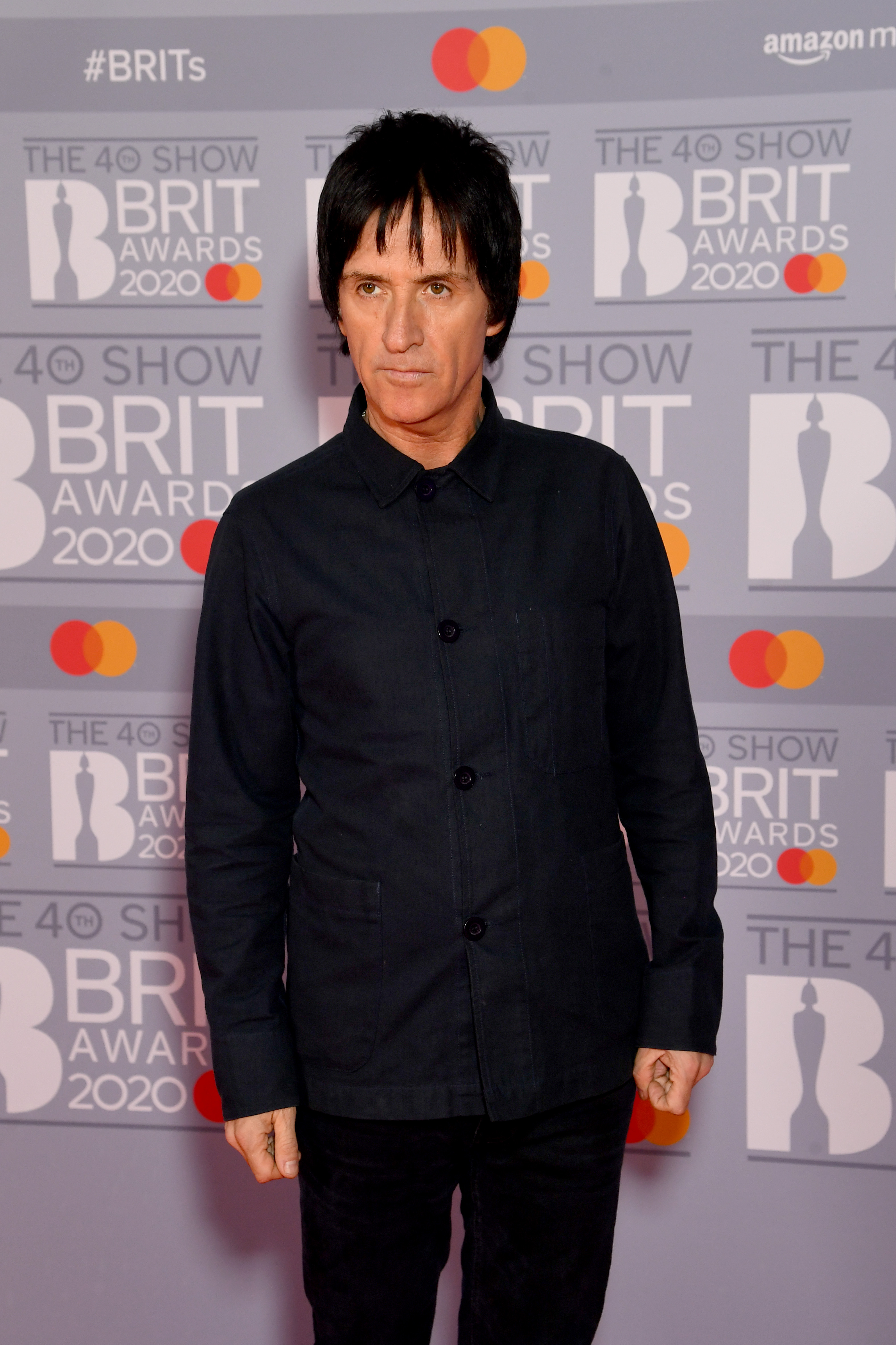 Johnny Marr attends The BRIT Awards 2020 at The O2 Arena on February 18, 2020 in London, England. (Photo by Dave J Hogan/Getty Images)