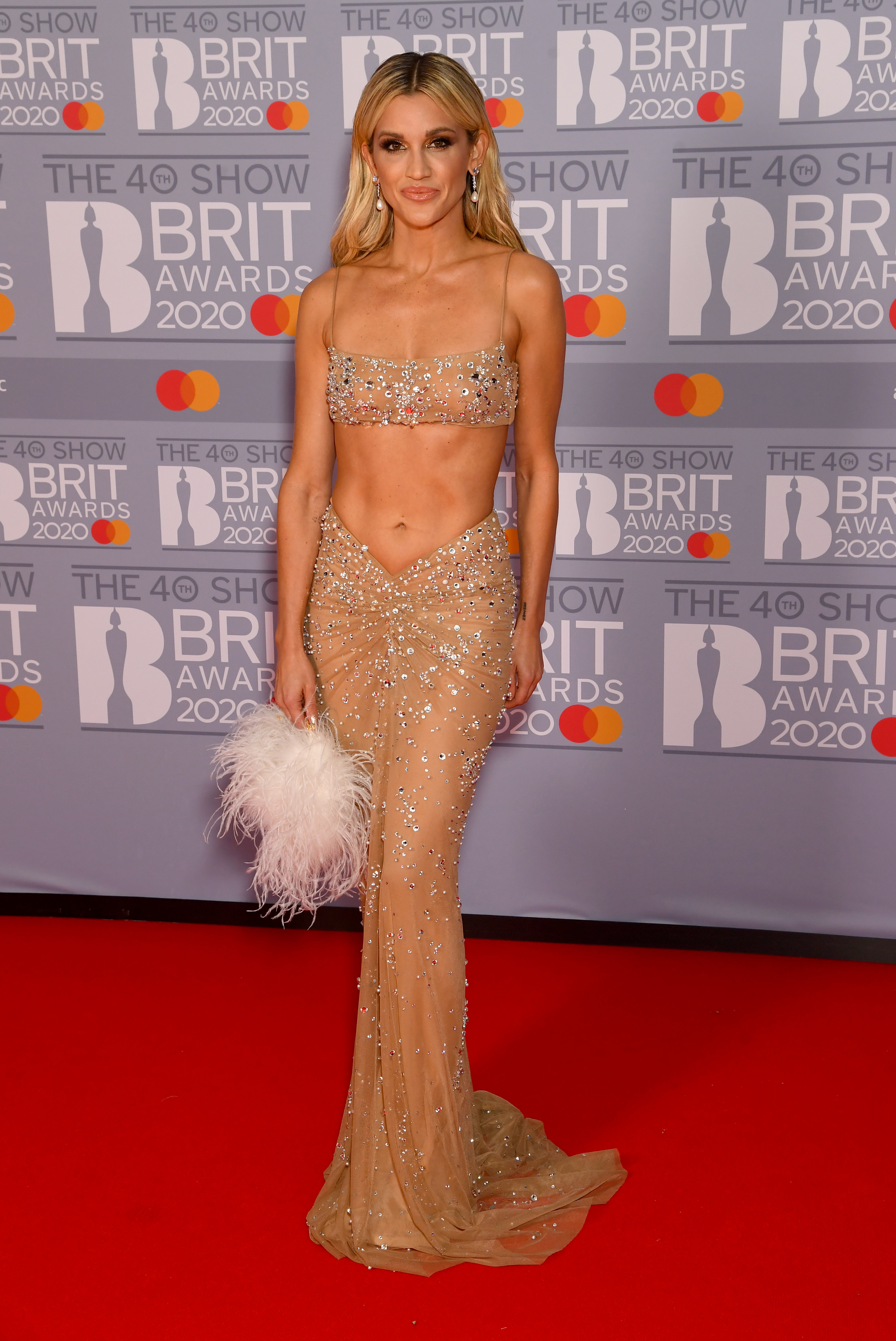 Ashley Roberts attends The BRIT Awards 2020 at The O2 Arena on February 18, 2020 in London, England. (Photo by Dave J Hogan/Getty Images)