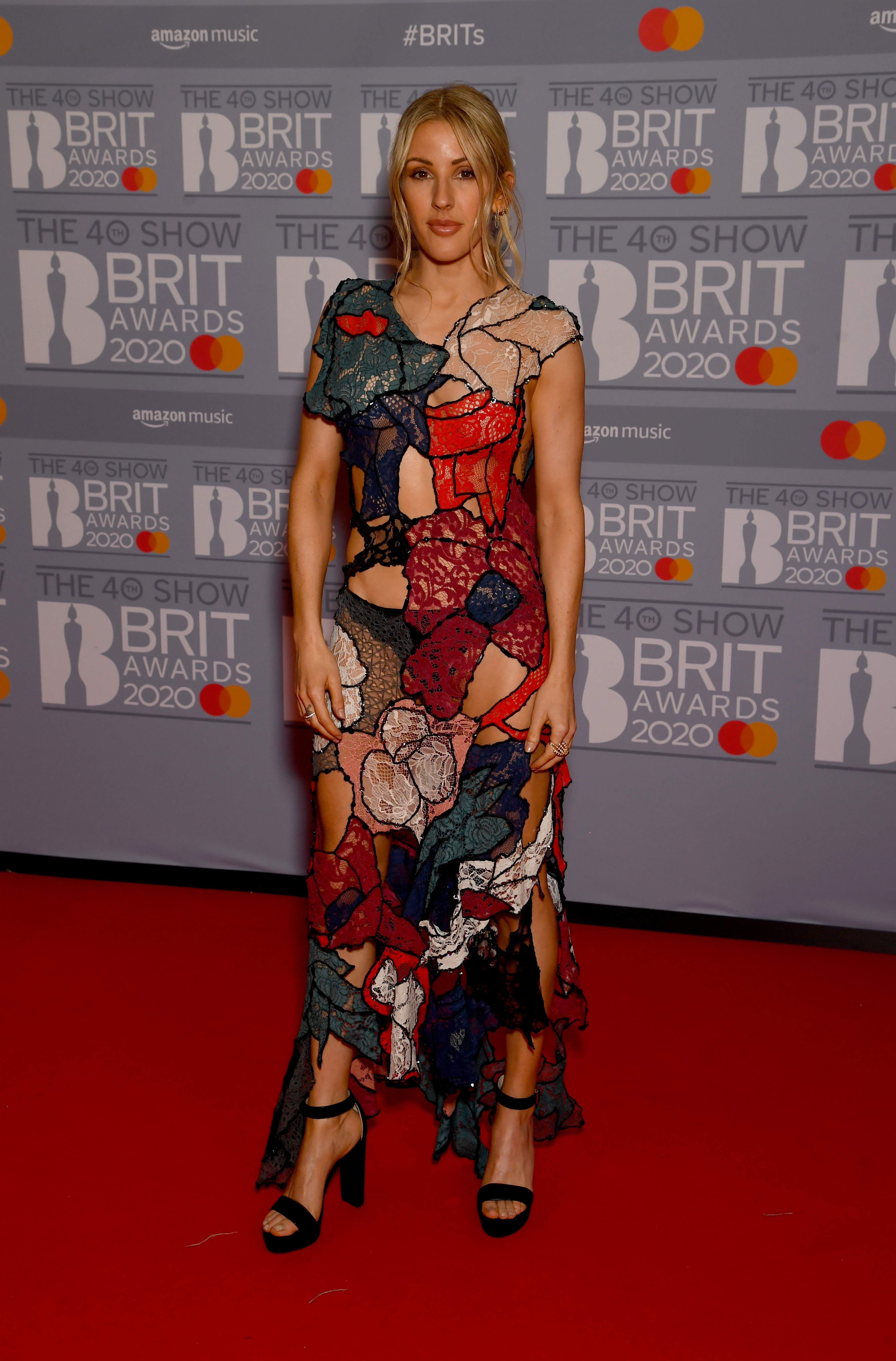 Ellie Goulding attends The BRIT Awards 2020 at The O2 Arena on February 18, 2020 in London, England. (Photo by Dave J Hogan/Getty Images)