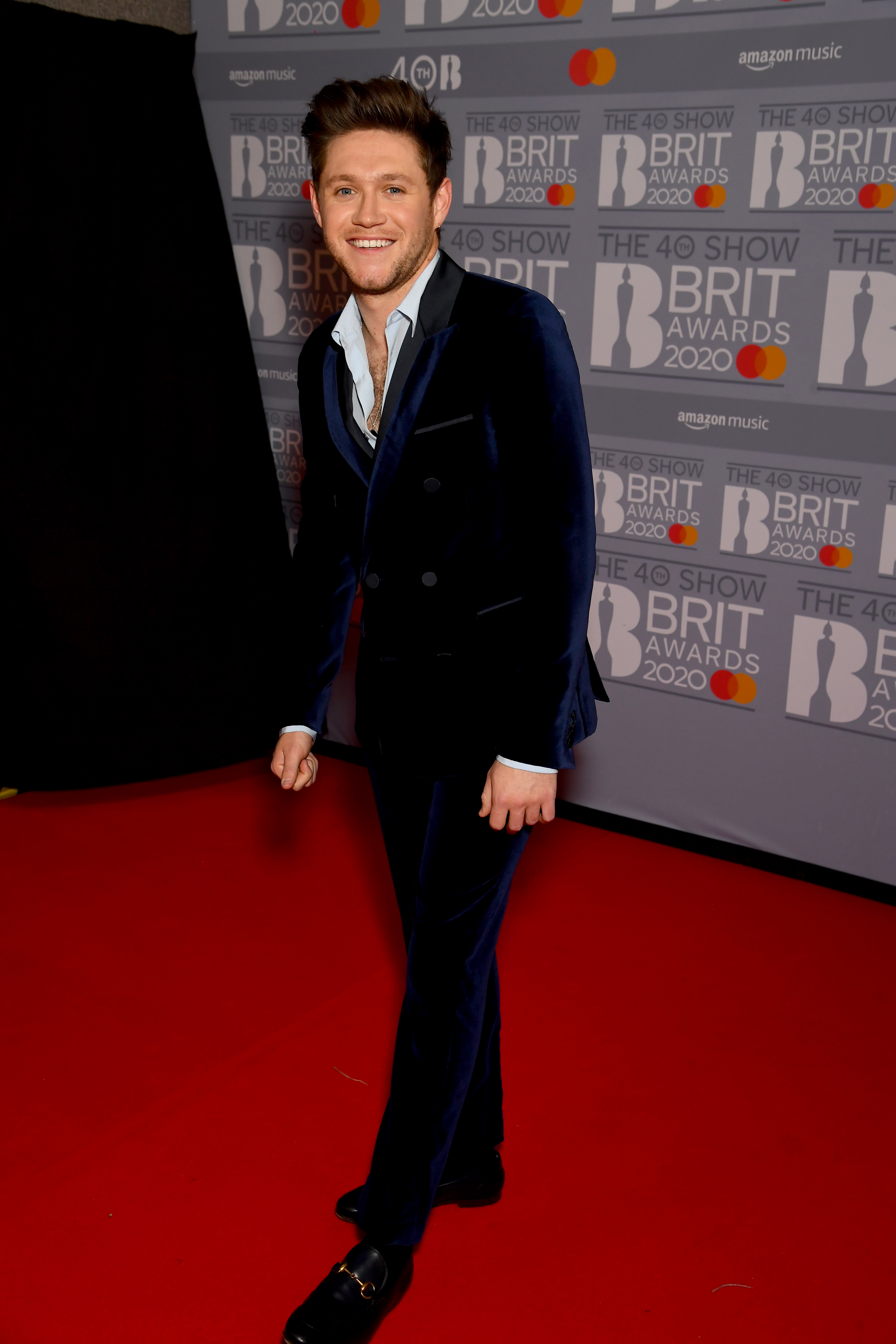 Niall Horan attends The BRIT Awards 2020 at The O2 Arena on February 18, 2020 in London, England. (Photo by Dave J Hogan/Getty Images)