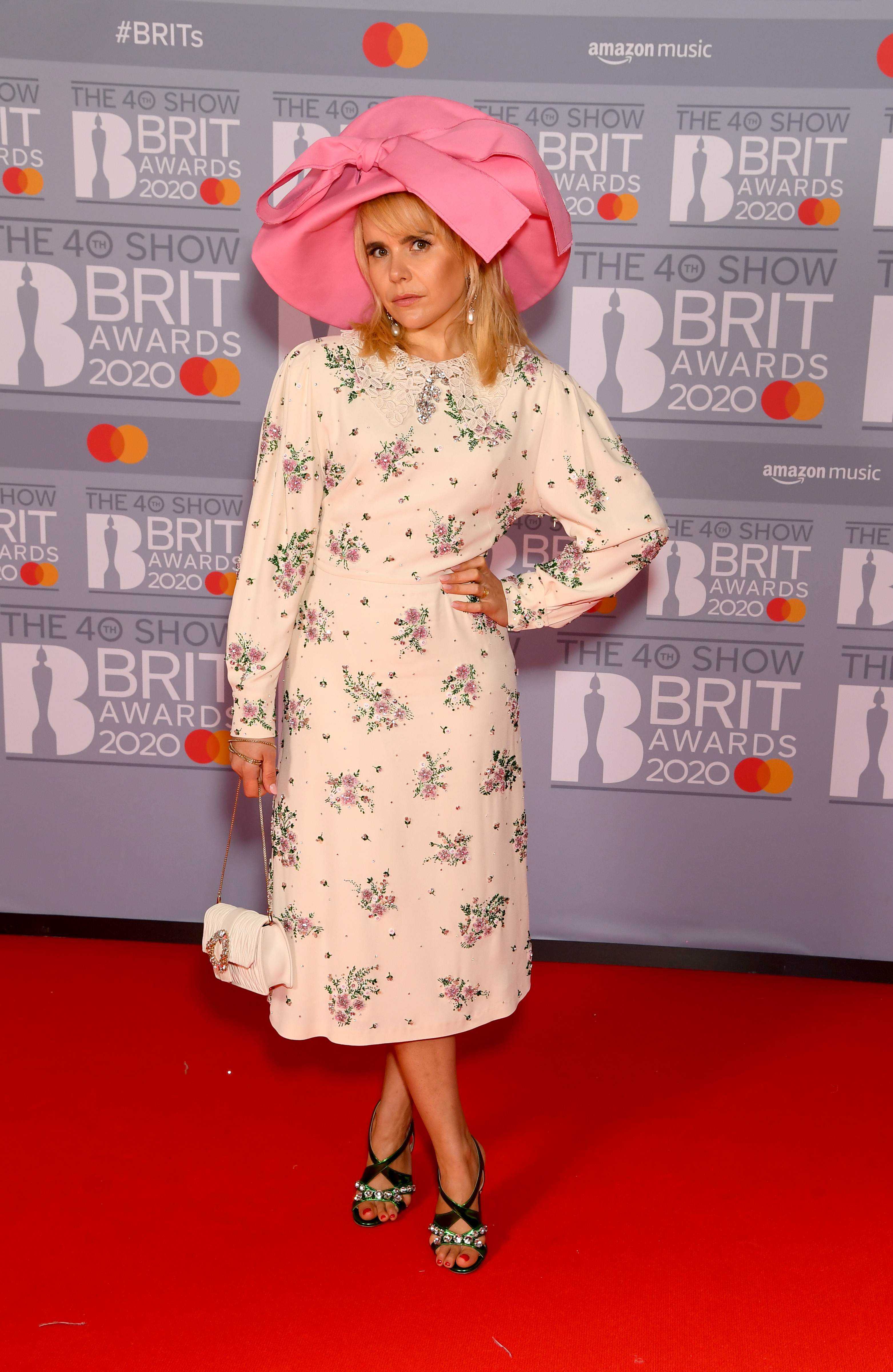 Paloma Faith attends The BRIT Awards 2020 at The O2 Arena on February 18, 2020 in London, England. (Photo by Dave J Hogan/Getty Images)