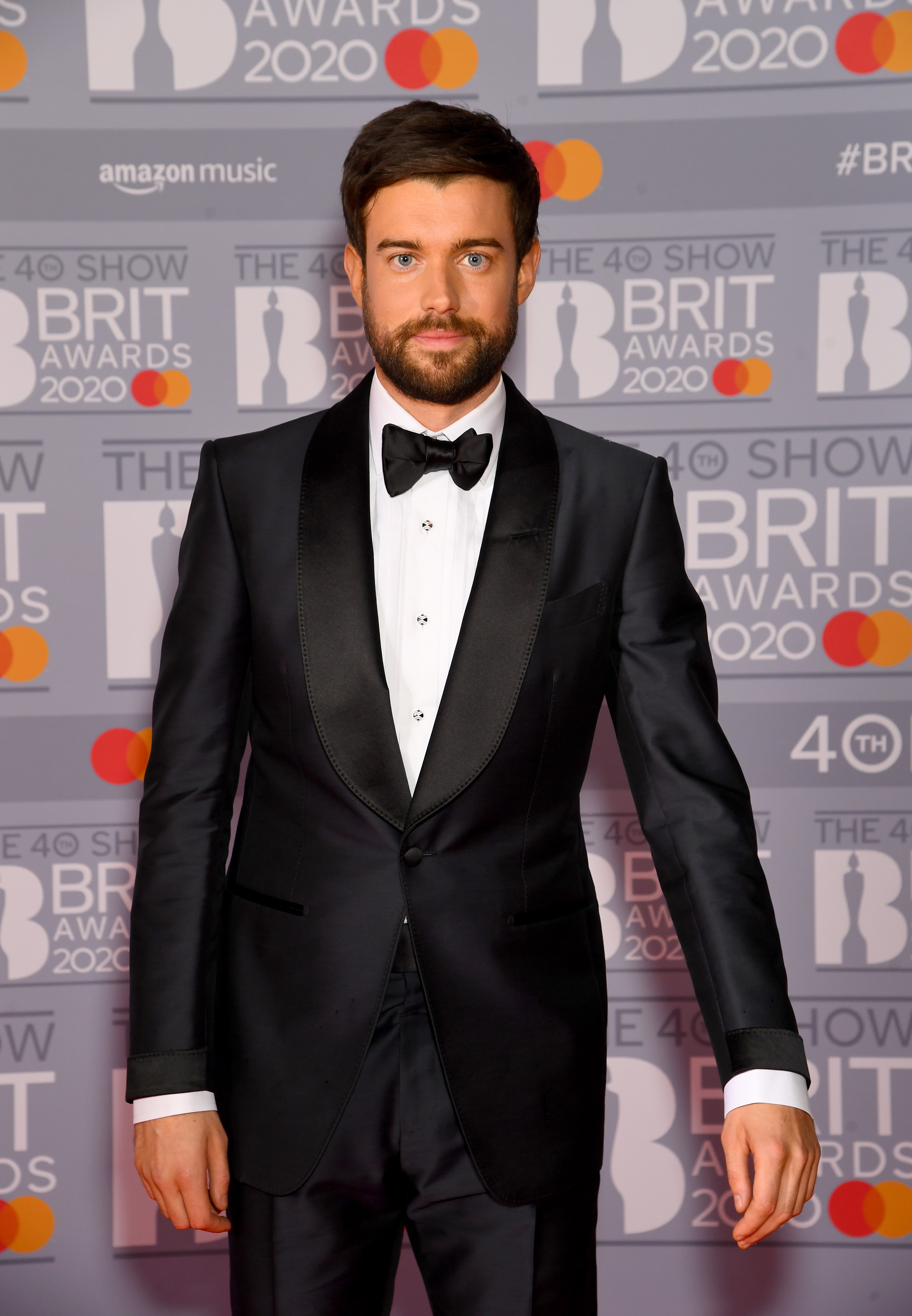 Jack Whitehall attends The BRIT Awards 2020 at The O2 Arena on February 18, 2020 in London, England. (Photo by Dave J Hogan/Getty Images)