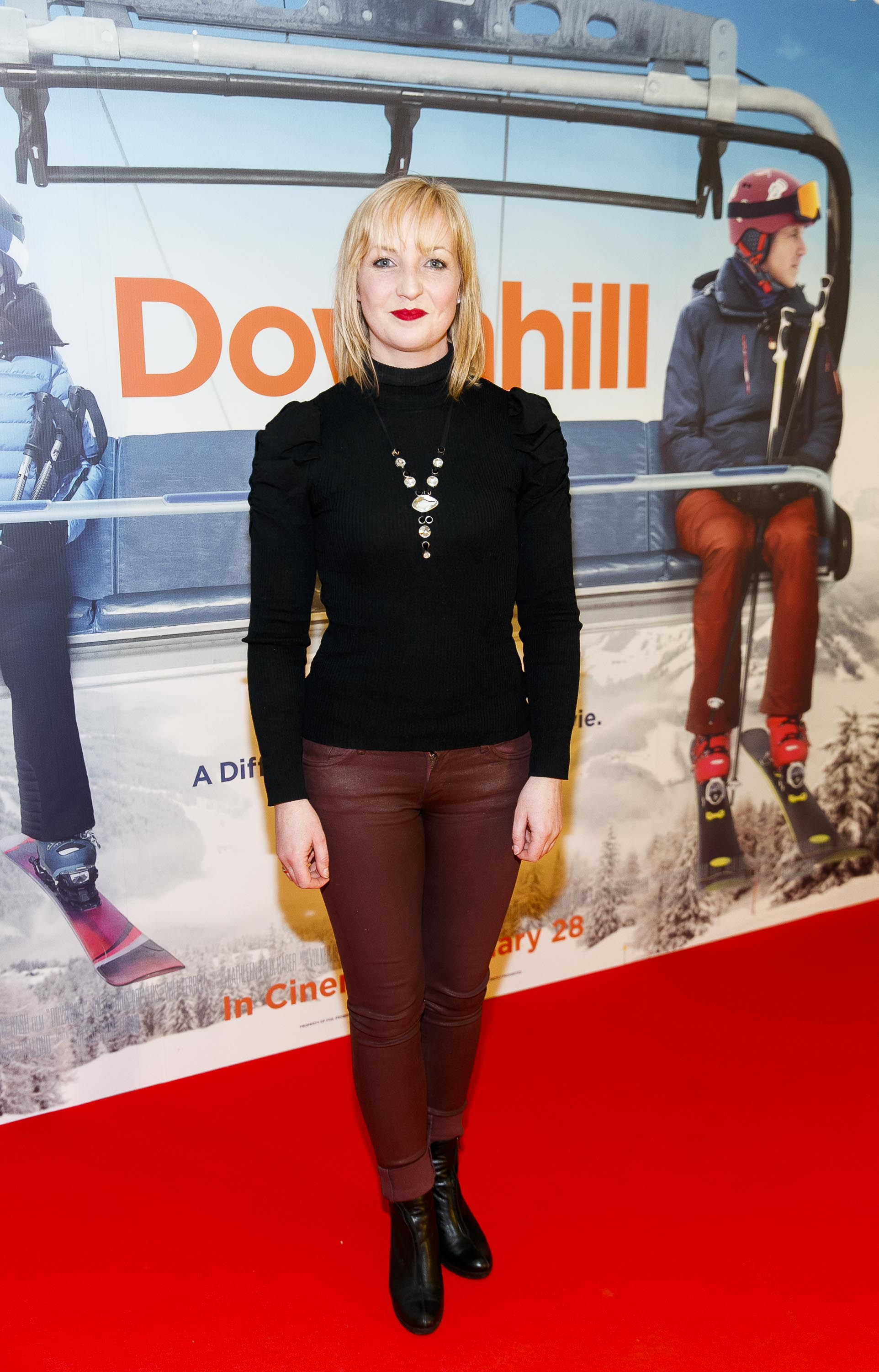 Irish stunt performer Aoife Byrne who acted as stunt double for Julia Louise-Dreyfus pictured at a special preview screening of Downhill at the Light House Cinema, Dublin. Picture: Andres Poveda.