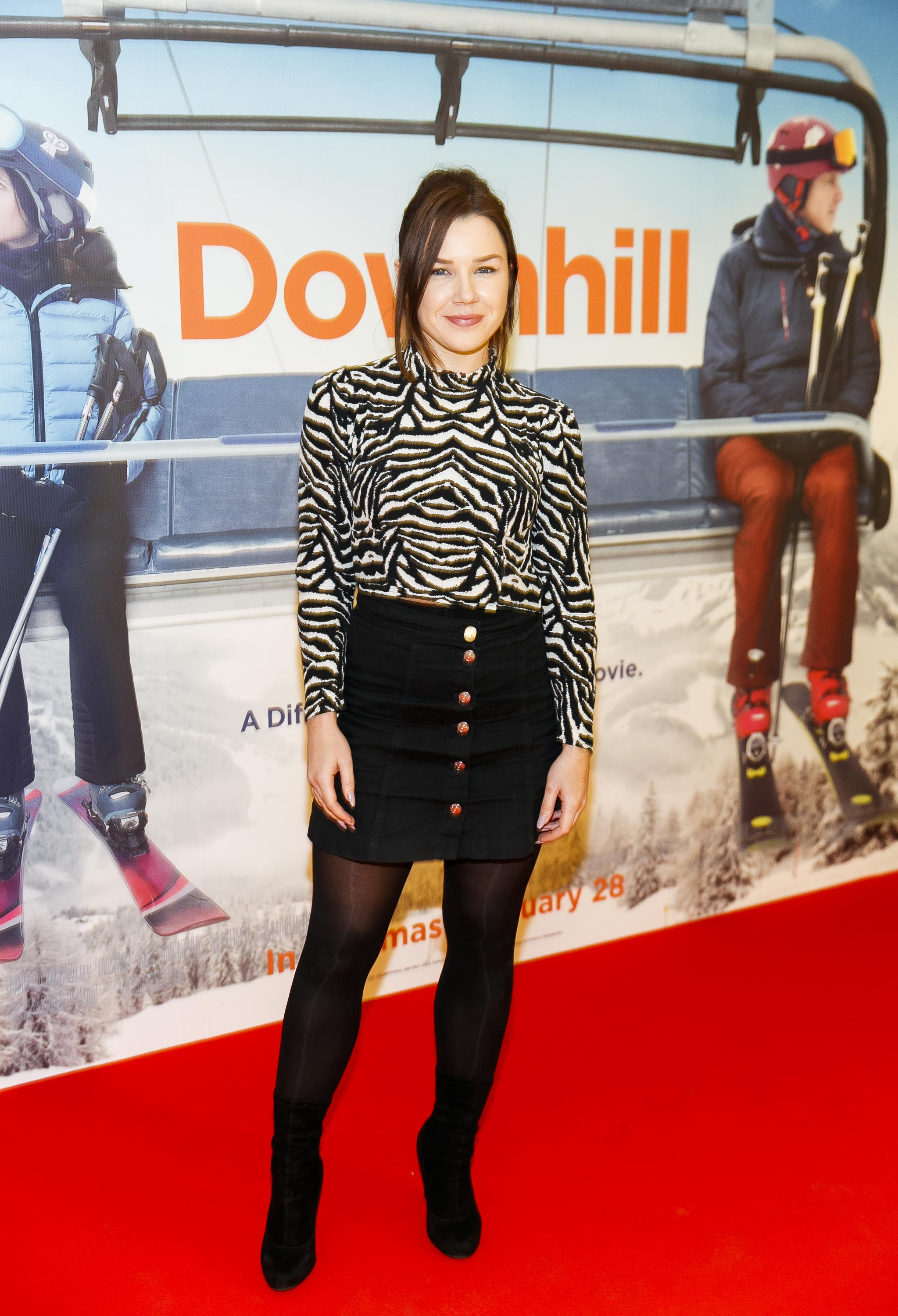 Saoirse Long pictured at a special preview screening of Downhill at the Light House Cinema, Dublin. Picture: Andres Poveda.