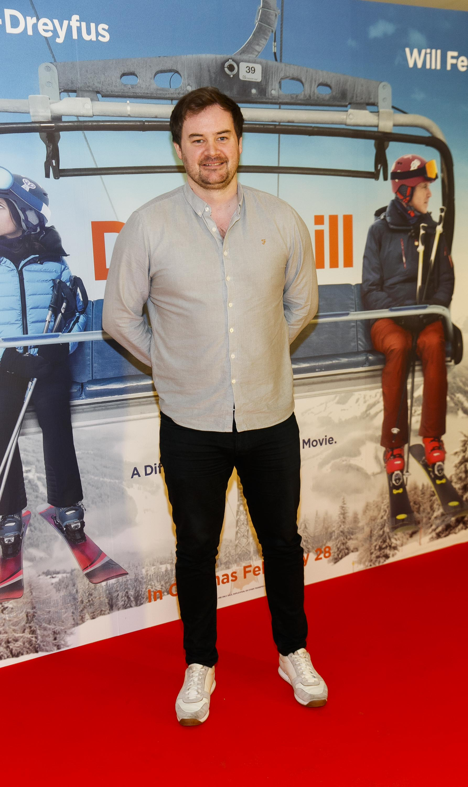 Cormac Moore pictured at a special preview screening of Downhill at the Light House Cinema, Dublin. Picture: Andres Poveda.