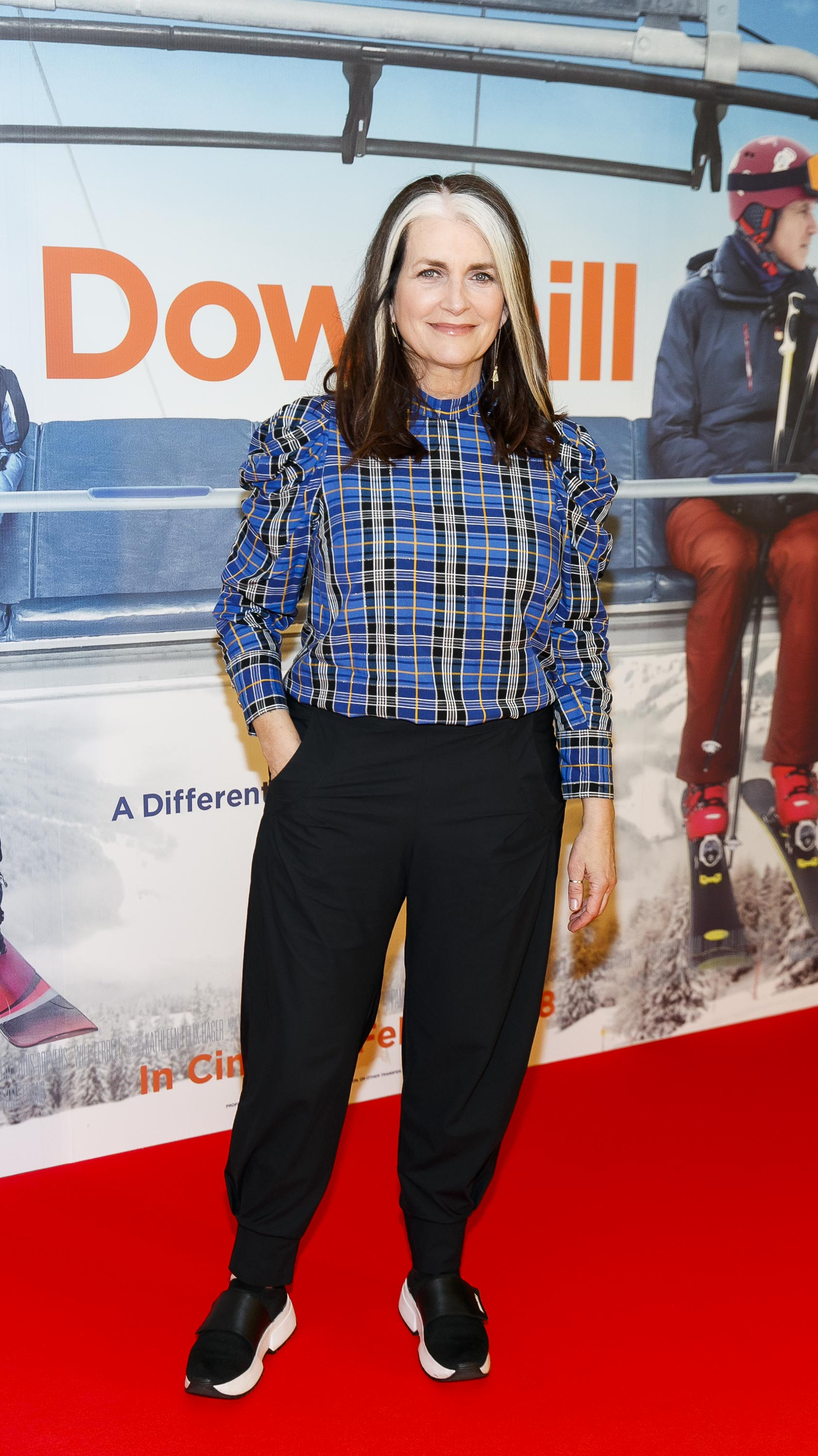 Cathy O'Connor pictured at a special preview screening of Downhill at the Light House Cinema, Dublin. Picture: Andres Poveda.