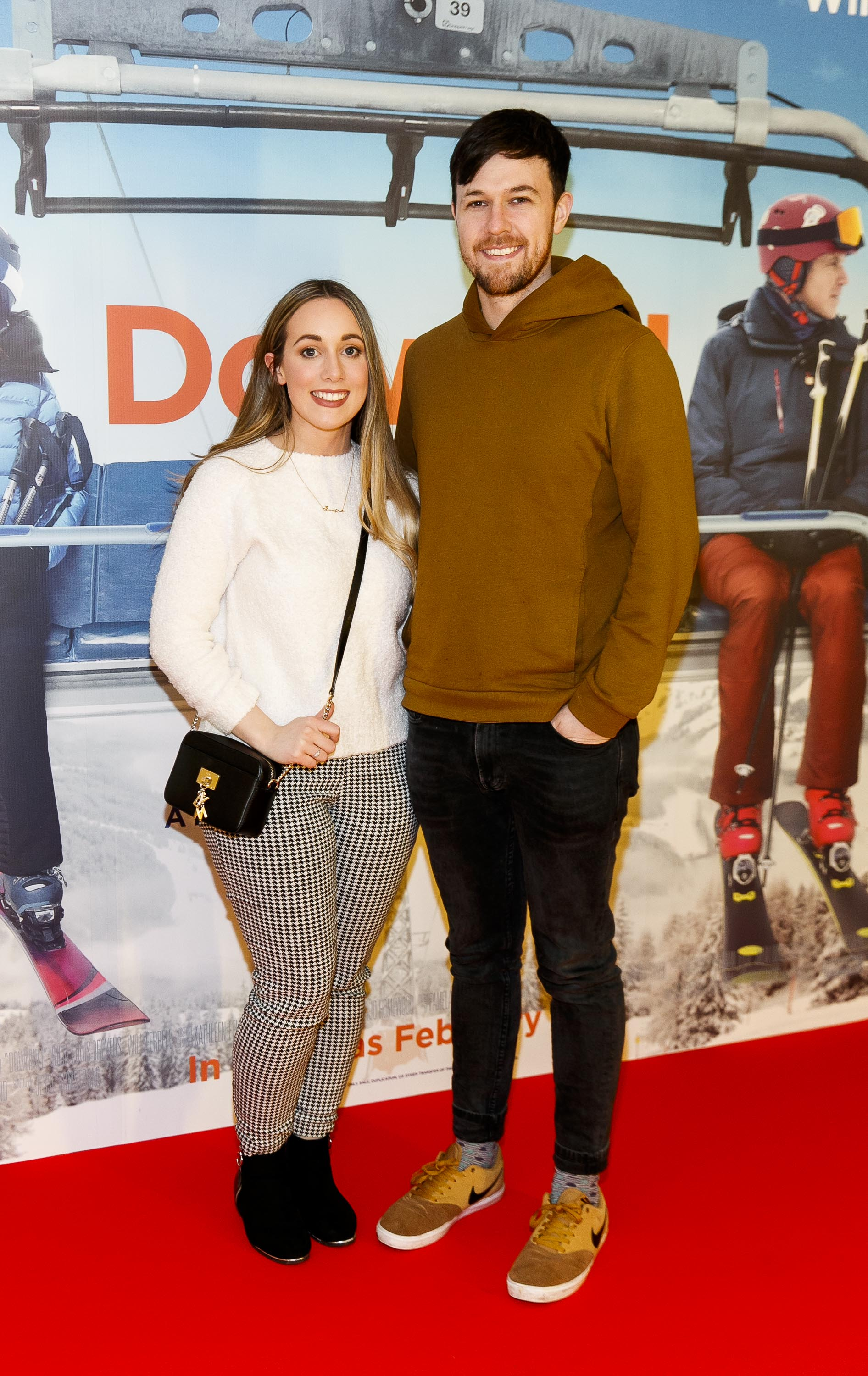 Siofra Colleran and  Brian Tighe pictured at a special preview screening of Downhill at the Light House Cinema, Dublin. Picture: Andres Poveda.