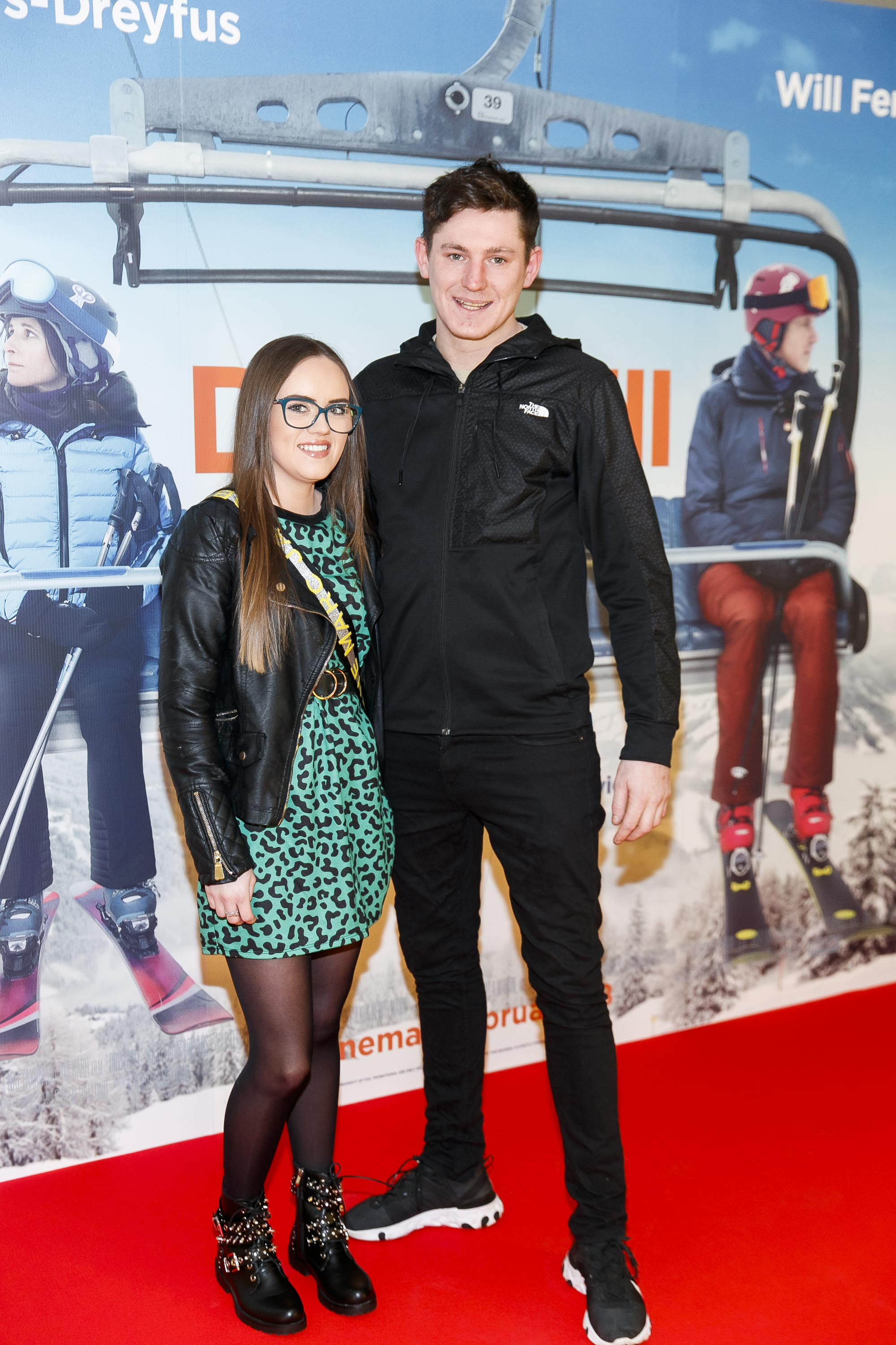 Megan Finlay and Harry McCabe pictured at a special preview screening of Downhill at the Light House Cinema, Dublin. Picture: Andres Poveda.