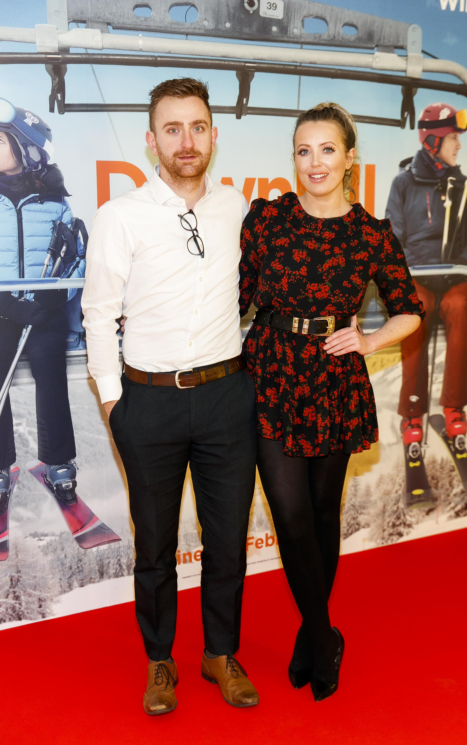 Edward Mackey and AJ fitzsimmons pictured at a special preview screening of Downhill at the Light House Cinema, Dublin. Picture: Andres Poveda.