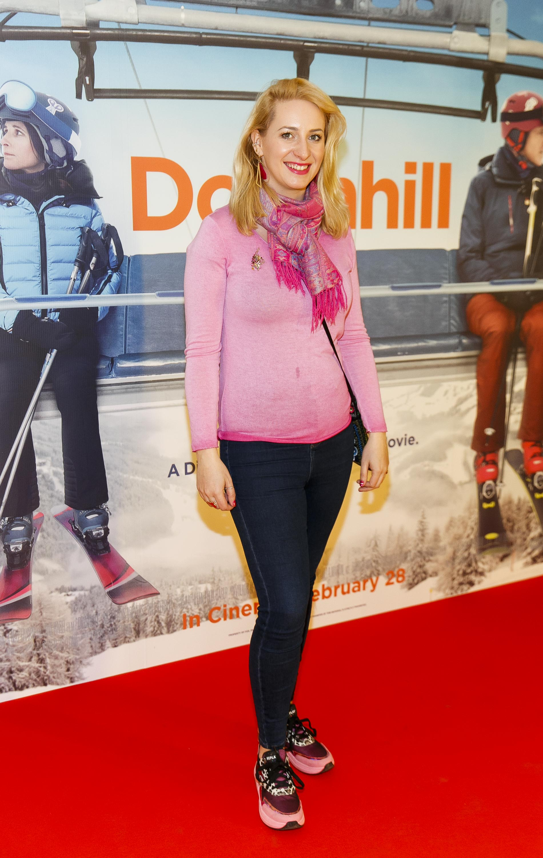 Emily Barton pictured at a special preview screening of Downhill at the Light House Cinema, Dublin. Picture: Andres Poveda.