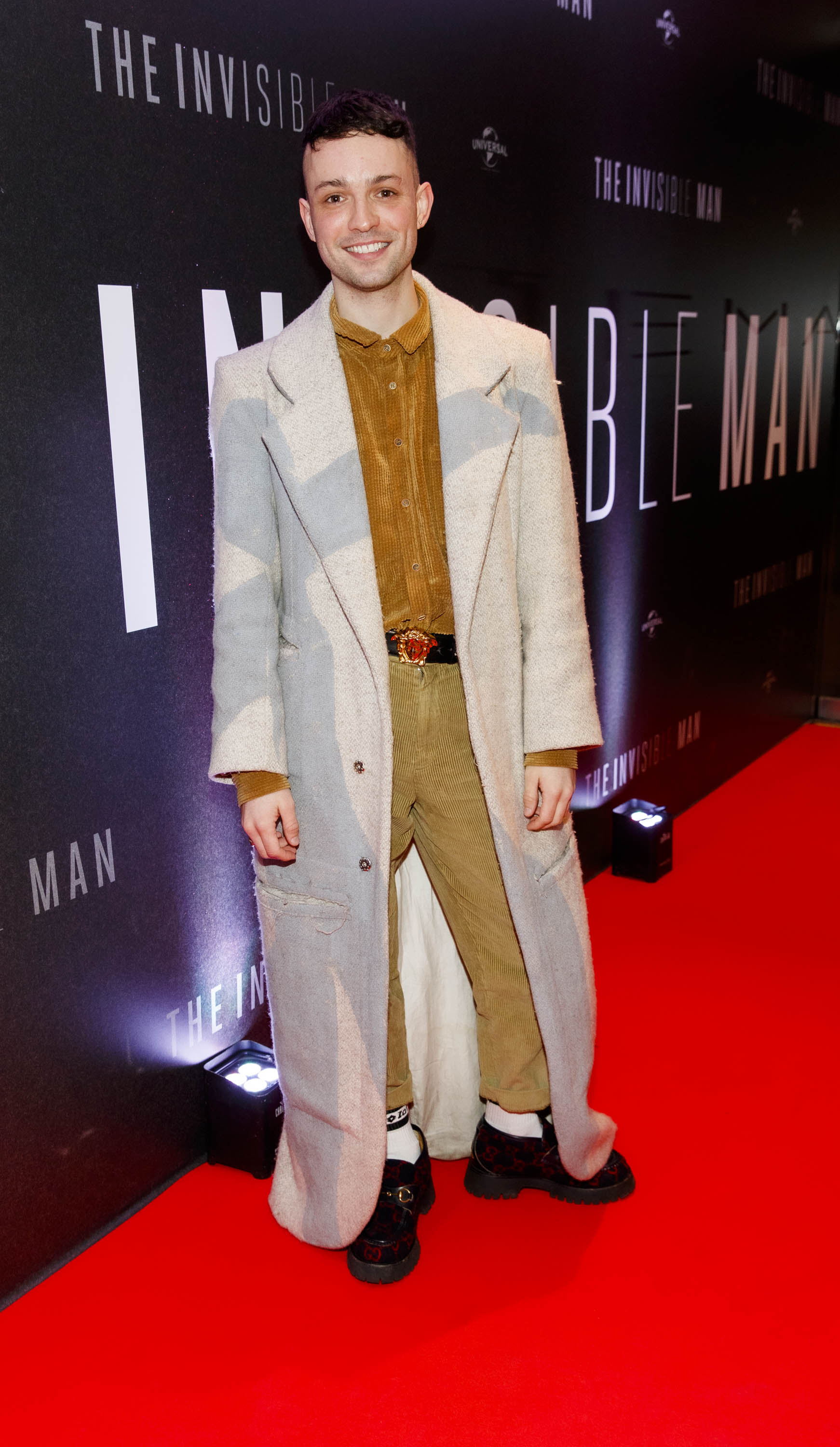 James Kavanagh pictured at a special preview screening of The Invisible Man at Light House Cinema, Dublin. Picture: Andres Poveda