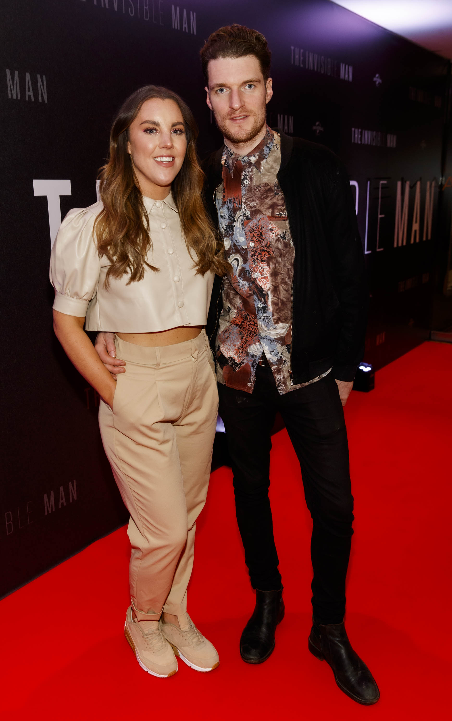 Sarah Hanrahan and Sean McNamee pictured at a special preview screening of The Invisible Man at Light House Cinema, Dublin. Picture: Andres Poveda