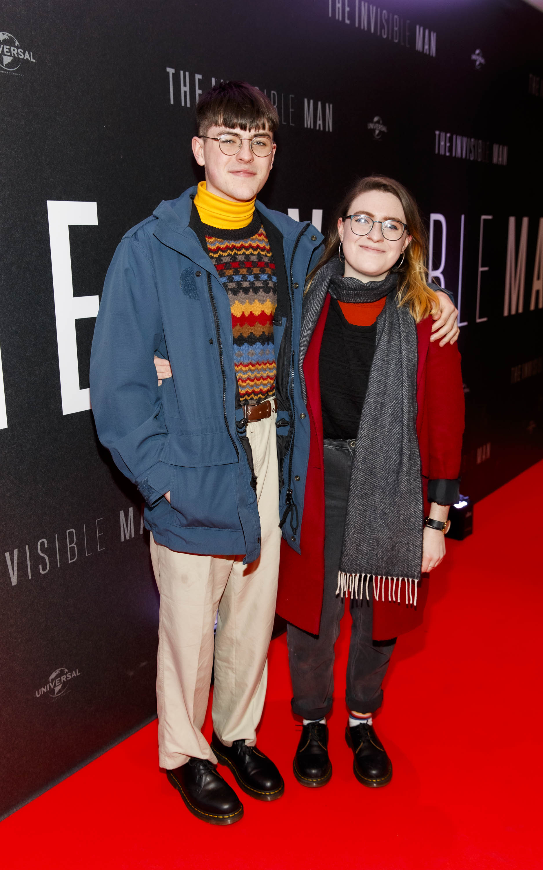 Anthony and Aoife O'Connor pictured at a special preview screening of The Invisible Man at Light House Cinema, Dublin. Picture: Andres Poveda.
