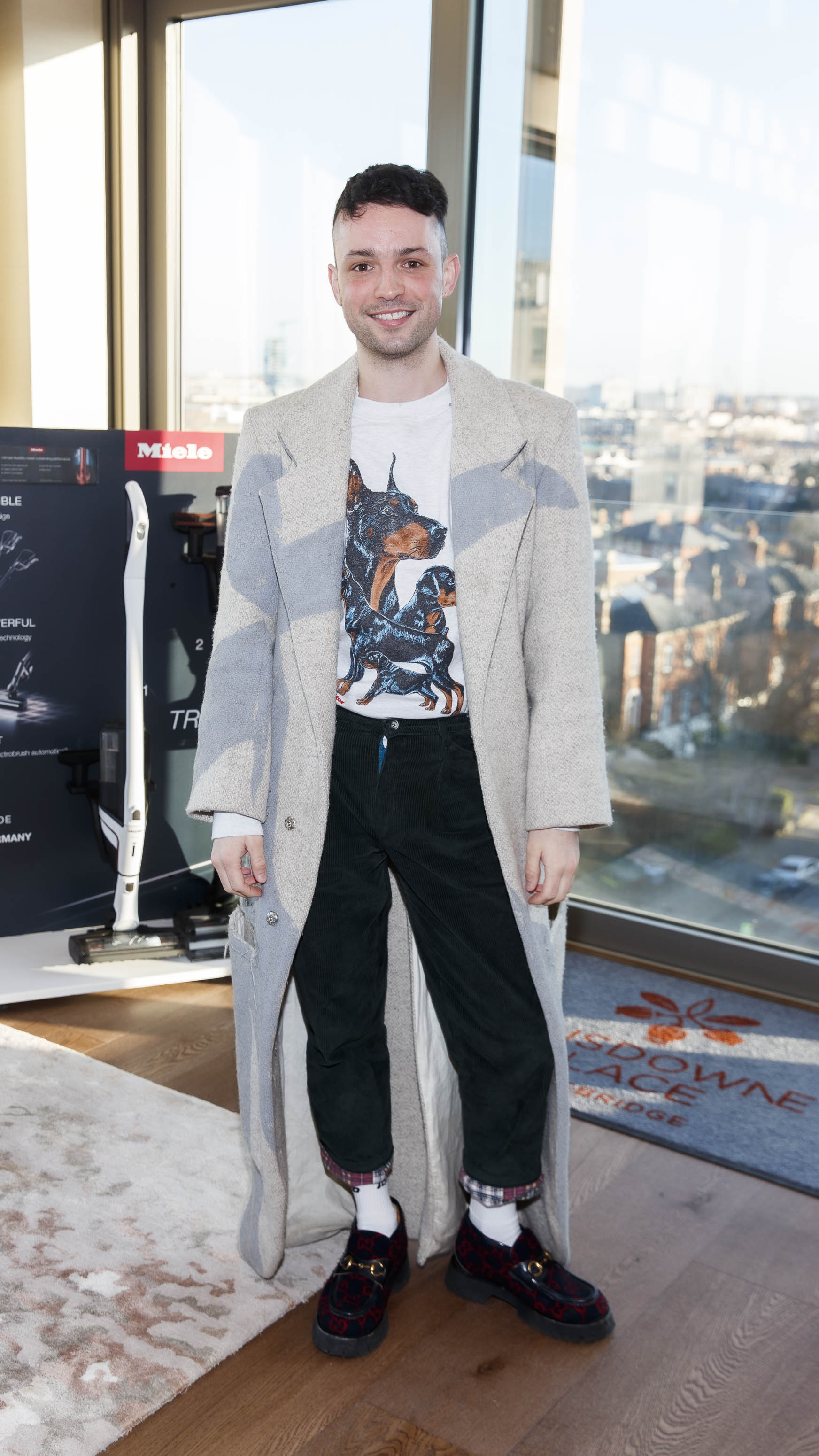 James Kananagh pictured at the launch of Miele Triflex. The world's leading manufacturer of cylinder vacuum cleaners, Miele, unveiled its first ever cordless handstick model at the stunning Landsdowne Place penthouse. Hosted by Miele managing director, Pat McGrath and in conversation with Dermot Bannon and Ciara Elliott, guests experienced the ultimate cordless vacuum cleaner, which is available in all major retailers from €499. Picture Andres Poveda