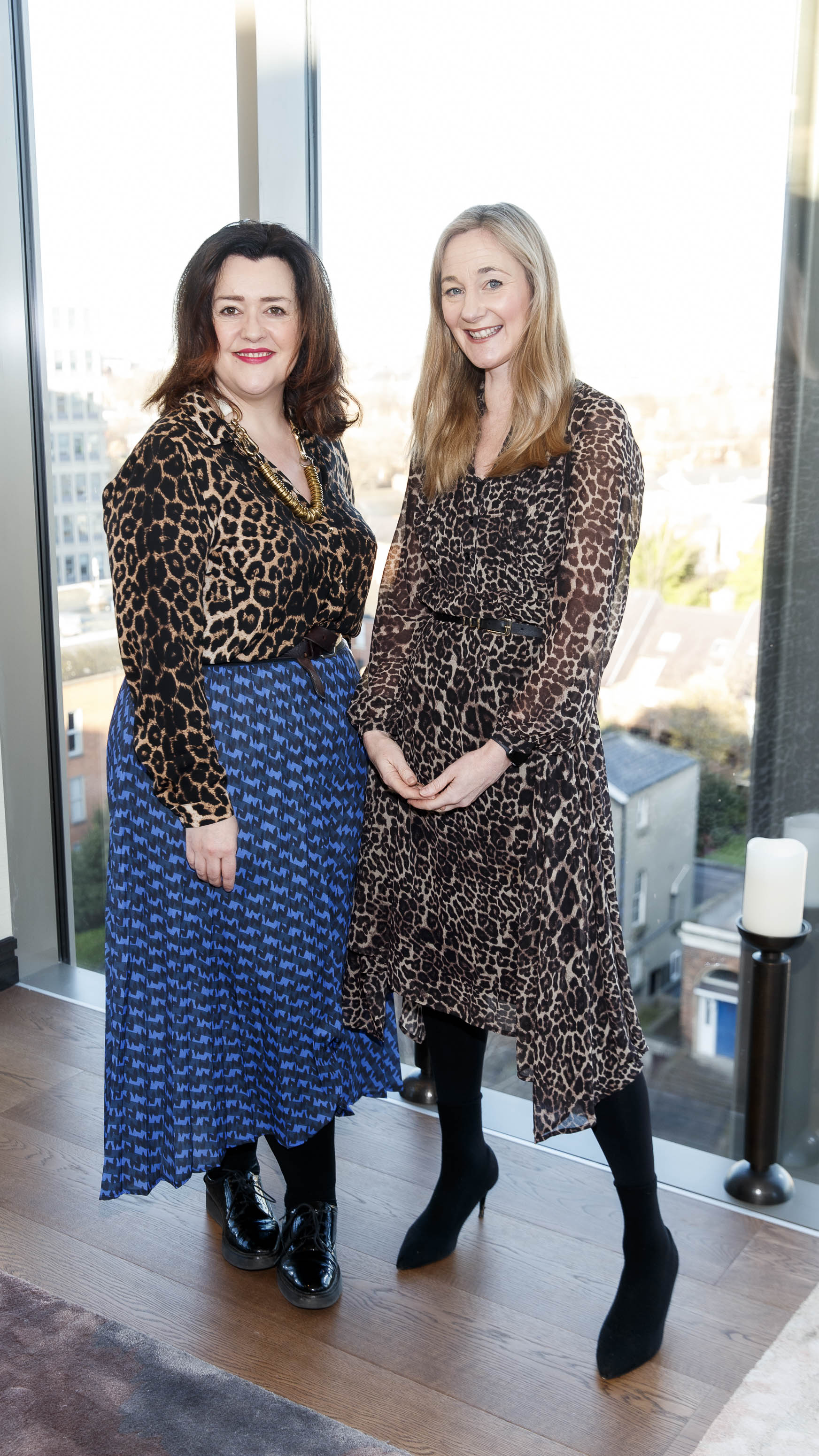 Kirstie McDermott and Ciara Elliott pictured at the launch of Miele Triflex. The world's leading manufacturer of cylinder vacuum cleaners, Miele, unveiled its first ever cordless handstick model at the stunning Landsdowne Place penthouse. Hosted by Miele managing director, Pat McGrath and in conversation with Dermot Bannon and Ciara Elliott, guests experienced the ultimate cordless vacuum cleaner, which is available in all major retailers from €499. Picture Andres Poveda