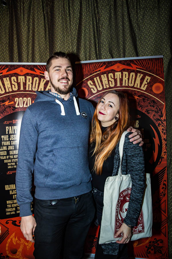 Rasto and Veronika at Sunstroke Launch 2020. ©Glen Bollard / MCD