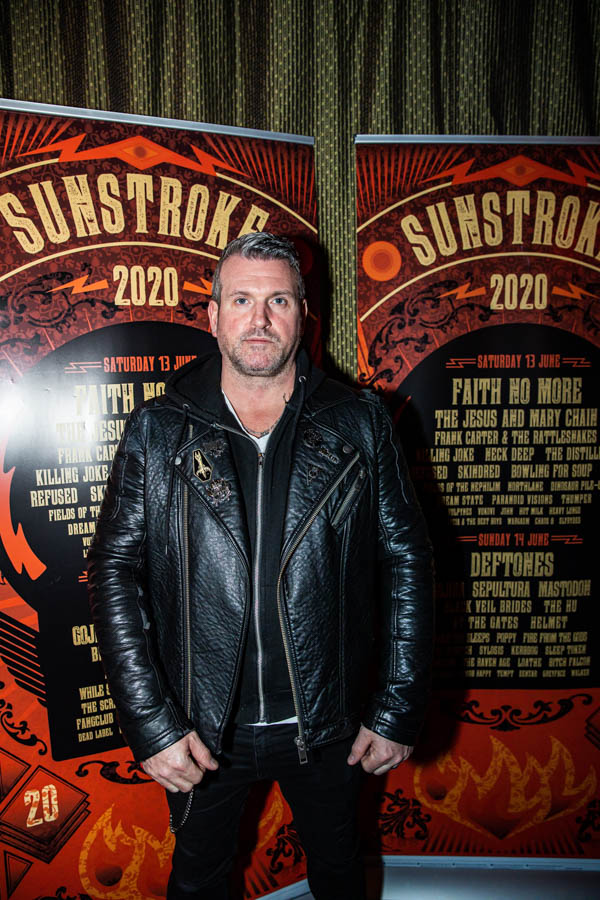 Oran O'Beirne of Overdrive.ie at Sunstroke Launch 2020. ©Glen Bollard / MCD