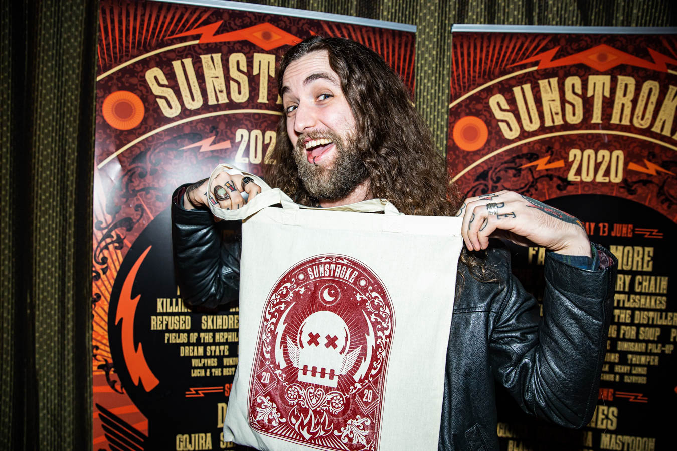 James Edd Orr at Sunstroke Launch 2020. ©Glen Bollard / MCD