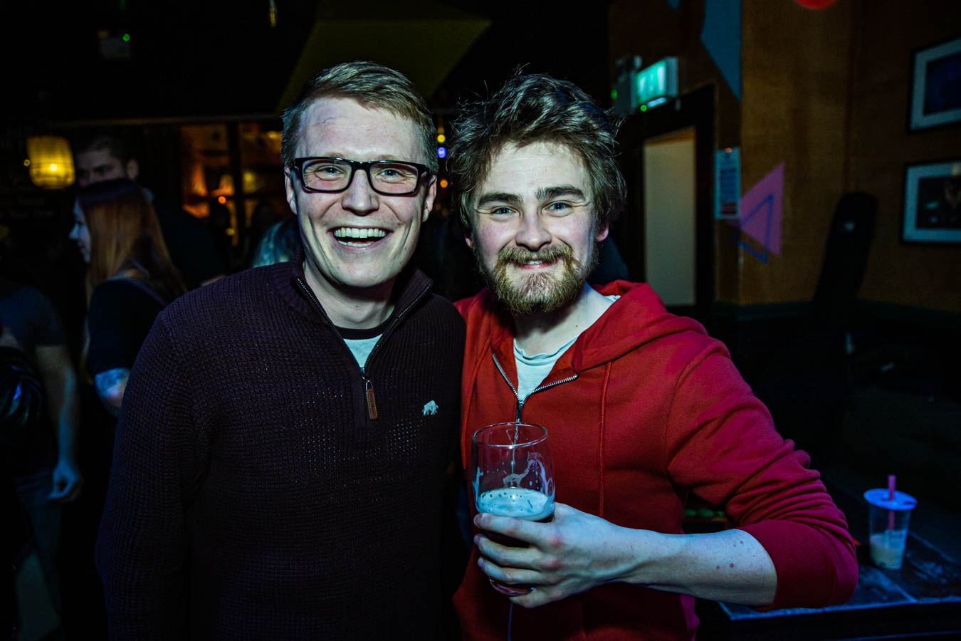 Barry McNamara and Donal Kennedy at Sunstroke Launch 2020.©Glen Bollard / MCD