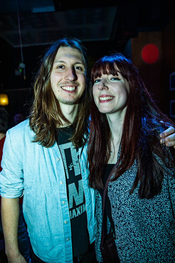 Axel McDonald and Amy Murphy at Sunstroke Launch 2020. ©Glen Bollard / MCD