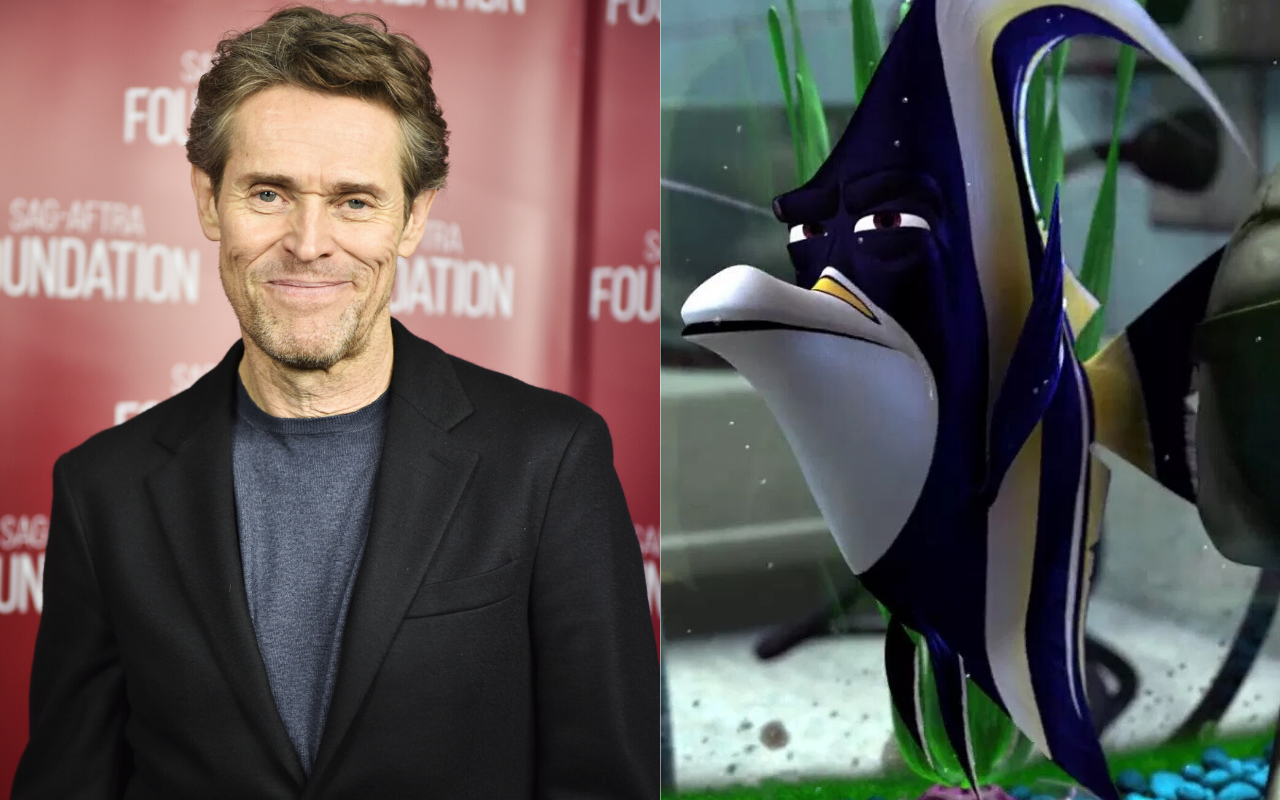 William Dafoe voiced the character of Gill in Finding Nemo (2003). Photo by Rodin Eckenroth via Getty Images/@2003 Disney All Rights Reserved.