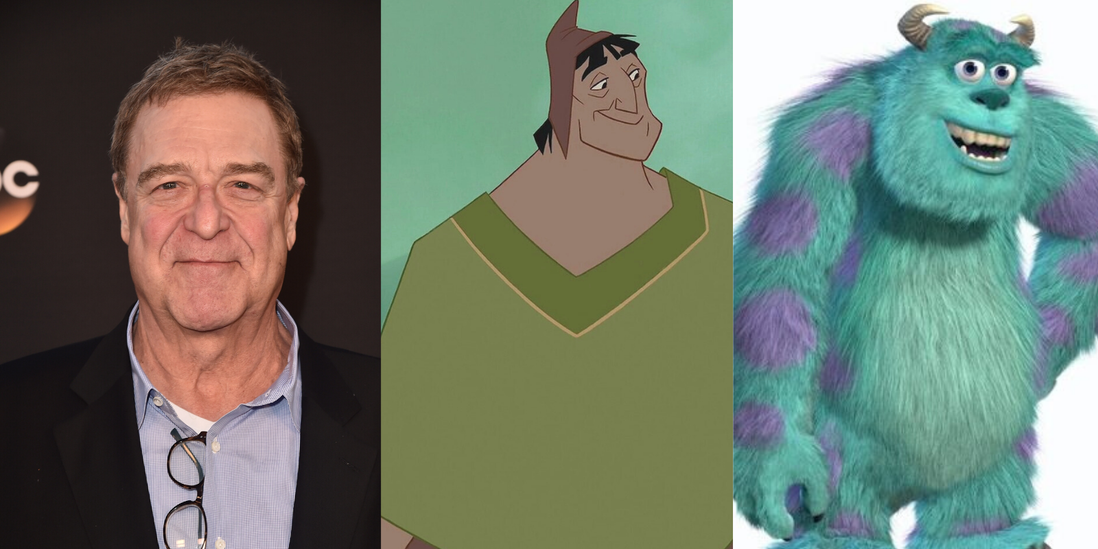 John Goodman voiced both Pacha in 'The Emperor's New Groove' and Sully in 'Monsters Inc'. Photo by Alberto E. Rodriguez via Getty Images/@2000 Disney All Rights Reserved.