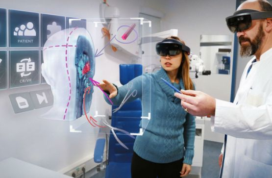 #AR in healthcare.