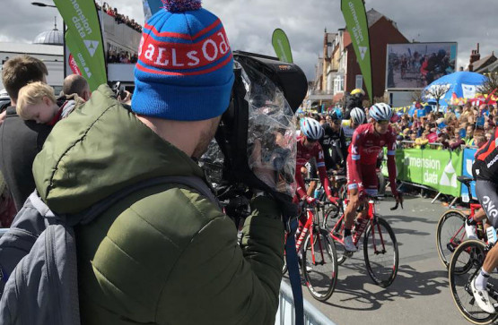 Camera's at the ready for Tour de Yorkshire 2017