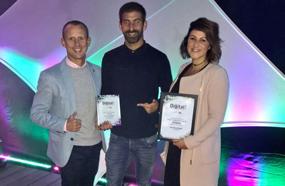 Digital awards success