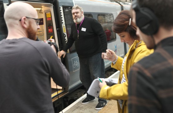 Hodor goes North of the Border with TransPennine Express!