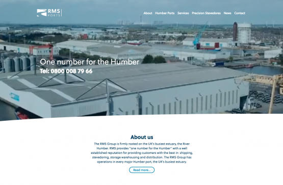 A fresh look for www.rms-humber.co.uk