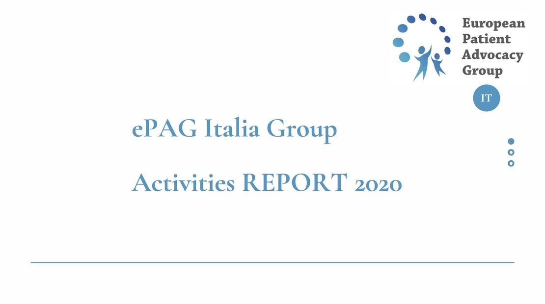 Report attività anno 2020