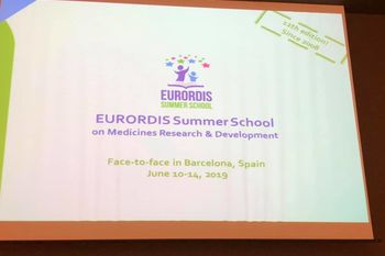 10-14 Giugno 2019 - Barcellona Eurordis Summer School