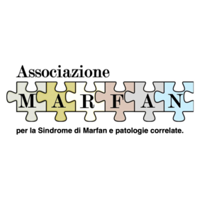 Logo di MARFAN Associaiozne per la Sindrome di Marfan e patologie correlate.
