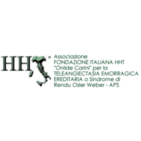 "Logo di FONDAZIONE ITALIANA HHT ""Onilde Carini"" – APS"