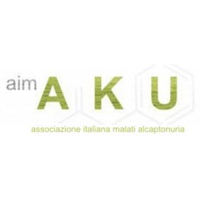 Logo di aimAKU Associazione Italiana Malati di Alcaptonuria.