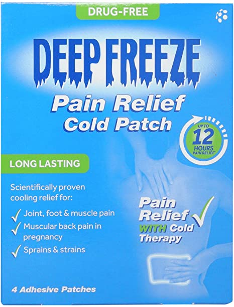 DEEP FREEZE PAIN RELIEF PATCH X PACK
