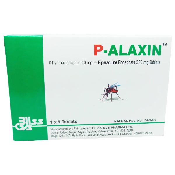 P-ALAXIN 40MG/320MG (1 X 9TABLETS)