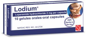 LODIUM CAPSULES 2 mg X 10 CAPS