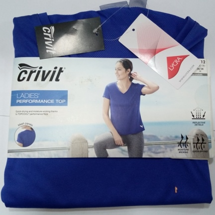 CRIVIT LADIES PERFORMANCE TOP
