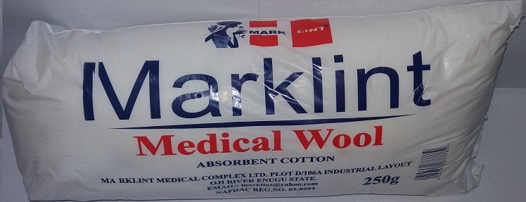 MARKLINT MEDICAL WOOL 250G