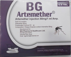 BG ARTEMETHER 80 MG X 6 AMPOULES