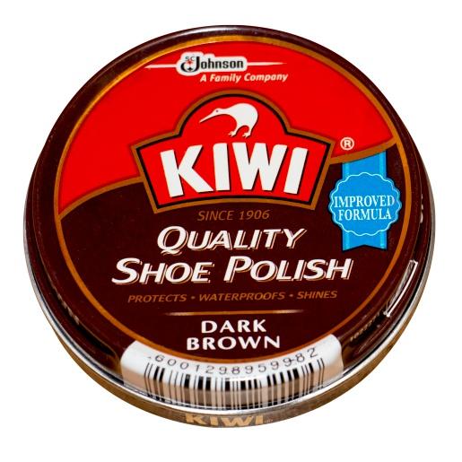 KIWI BROWN SHOE SHOE POLISH 50ML