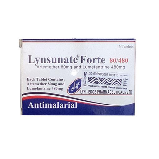 LYNSUNATE FORTE 80MG / 480MG X 6 TABS