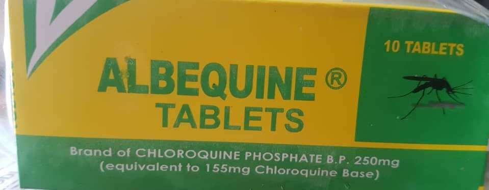 ALBEQUINE TABLETS 250MG X 10
