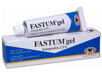 FASTUM GEL KETOPROFEN 2.5% 100 G