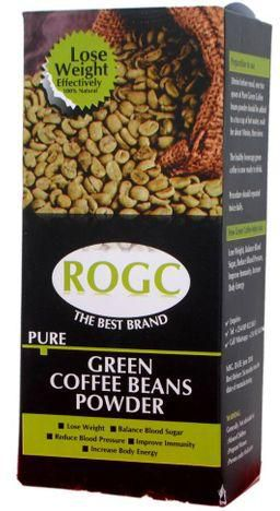 ROGC PURE GREEN COFFEE BEANS POWDER