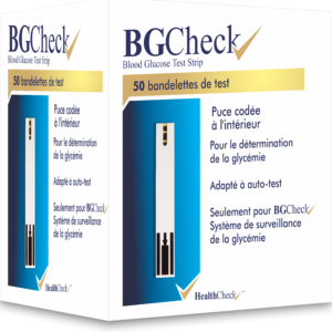 BGCHECK TEST STRIPS (HEALTH CHECK) 50TS